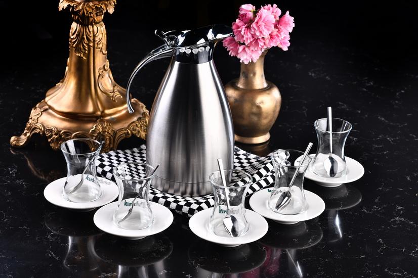 Büyük Potta Çay 17 Bardak