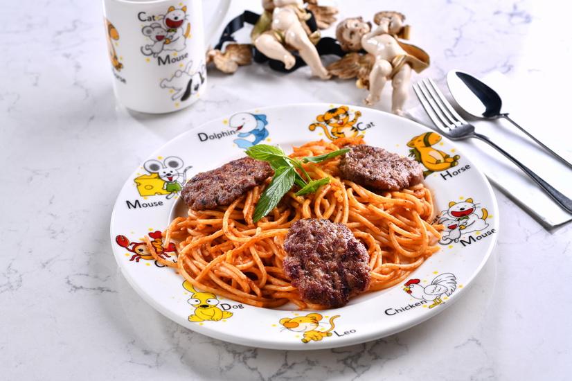 Kids Köfteli Spagetti